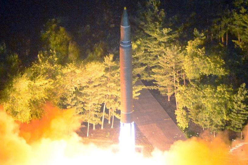 28 lipca Korea Północna przeprowadziła test międzykontynentalnego pocisku balistycznego /North Korean Central News Agency (KCNA) /PAP/EPA