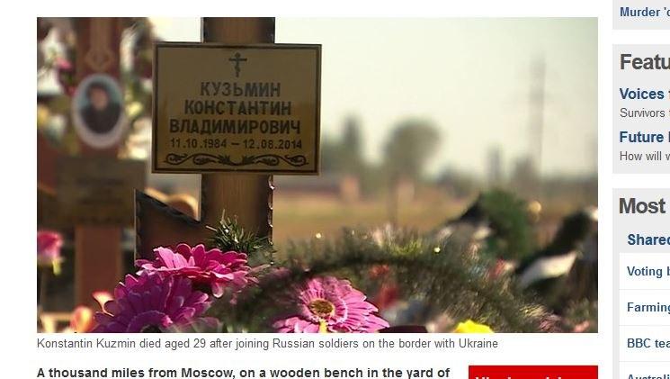 29-letni Konstantin Kuzmin zmarł w niewyjaśnionych okolicznościach /BBC News /