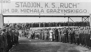 29 września 1935 r. Otwarcie stadionu Ruchu