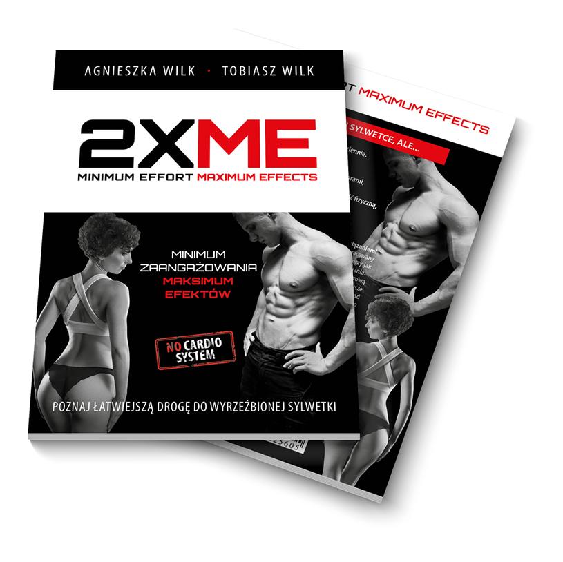 2XME - okładka książki /materiały prasowe