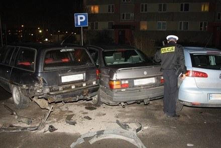 3,5 promila za kierownicą BMW /Policja