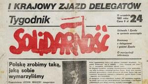 """3 kwietnia 1981 r. Pierwszy numer """"Tygodnika Solidarność"""""""