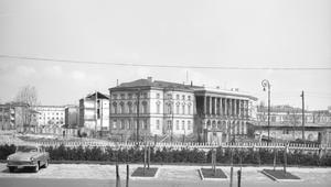 30 marca 1970 r. Przesunięcie Pałacu Lubomirskich
