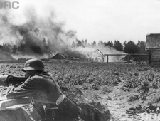 "31 maja 1944 r. Partyzanci zatopili statek ""Tannenberg"""