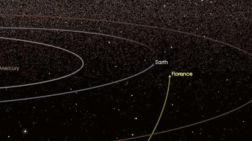 3122 Florence niedawno minęła Ziemię /NASA