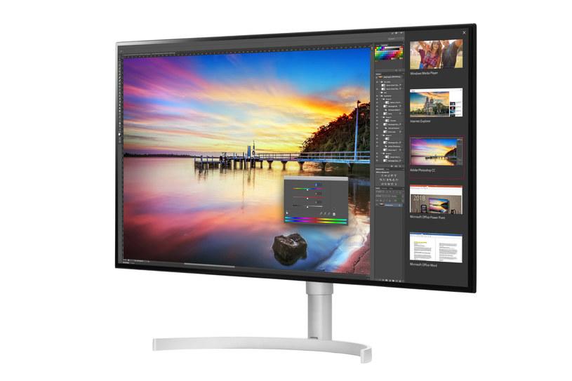 32-calowy monitor UHD 4K /materiały prasowe