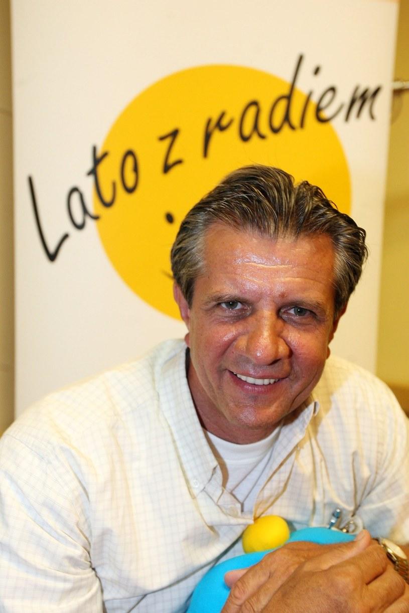 """35-lecie audycji """"Lato z radiem"""" - prowadzący Zygmunt Chajzer /Piotr Fotek /East News"""