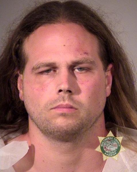 35-letni Jeremy Joseph Christian na zdjęciu opublikowanym przez policję w Portland /www.portlandoregon.gov /