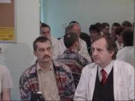 37-letni Marek Breguła (z lewej) z profesorem Michałem Zembalą - dyrektorem śląskiego centrum /RMF