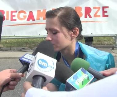 38. PZU Maraton Warszawski. Anna Szyszka po biegu. Wideo