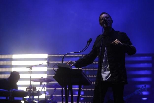 3D z Massive Attack podczas koncertu w Gdyni /Agencja FORUM