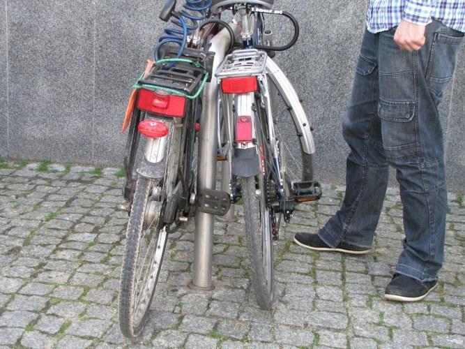 4,24 promila alkoholu w wydychanym powietrzu miał rowerzysta zatrzymany przez patrol straży granicznej. Zdjęcie ilustracyjne /Agnieszka Wyderka /RMF FM