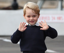 4-letni książę George pójdzie od września do szkoły