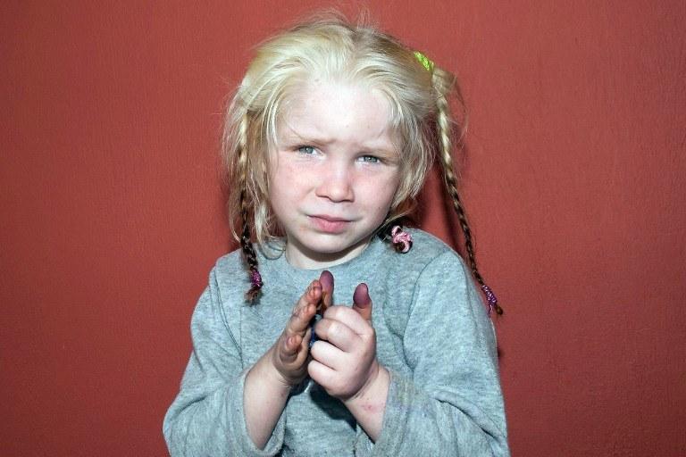 4-letnia Maria /AFP