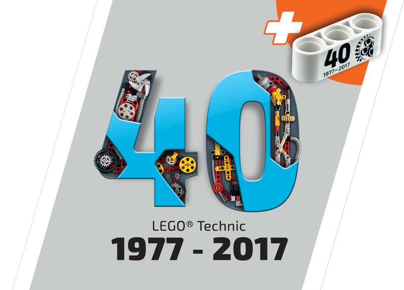 40-lecie serii LEGO Technic /materiały prasowe