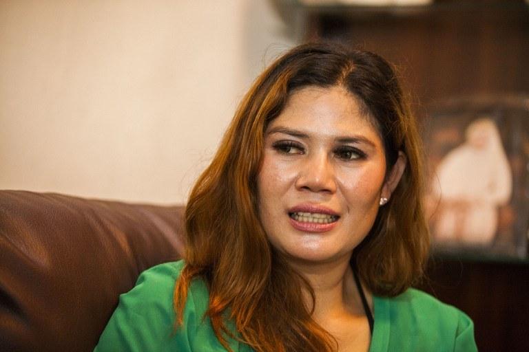 40-letnia wdowa, Wina Lia /AFP