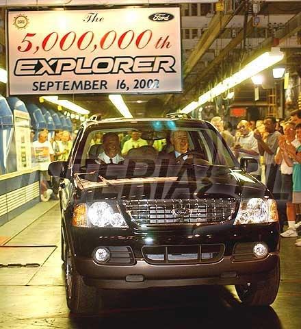 5,000,000-milionowy Ford Explorer (kliknij) /INTERIA.PL