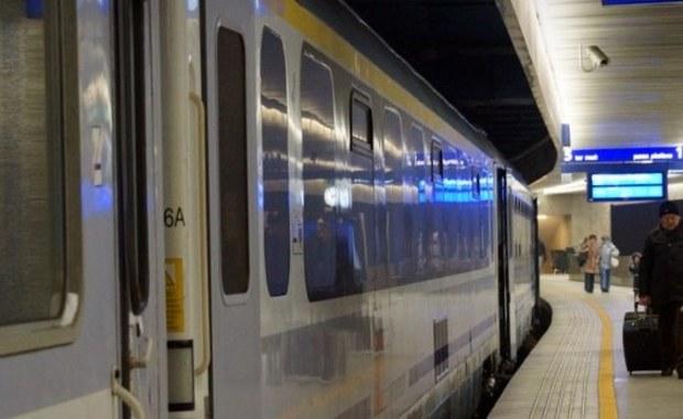 5-godzinne opóźnienie pociągu Intercity. Pasażer twierdził, że ma bombę