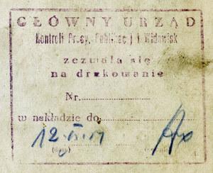 5 lipca 1946 r. Komuniści wprowadzają cenzurę