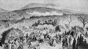 5 marca 1863 r. Powstanie styczniowe. Langiewicz zwycięża w bitwie pod Skałą