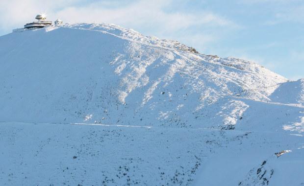 5 turystów utknęło na szczycie Śnieżki. Potrzebowali pomocy ratowników