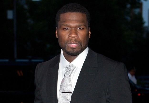 50 Cent został dawcą szpiku kostnego fot. Dario Cantatore /Getty Images/Flash Press Media