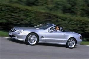 50 lat Mercedesa SL