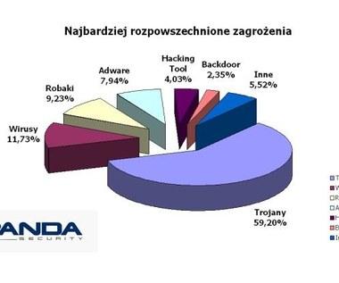 50 proc. komputerów zainfekowanych