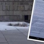 54-latek podpalił się na Placu Defilad. Nieoficjalnie: Zostawił list, w którym krytykował rząd