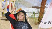 54-letnia Ewa Kasprzyk w legginsach. Hit?