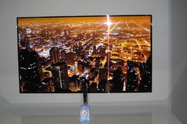55-calowy prototyp telewizora Super OLED /INTERIA.PL