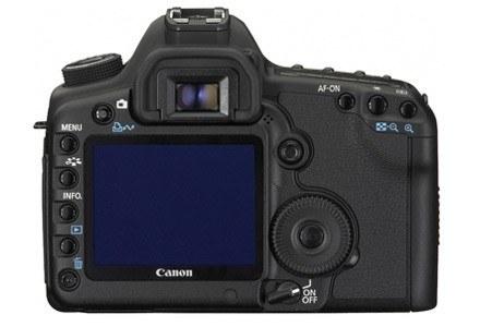 5D Mark II - tylny panel aparatu /materiały prasowe