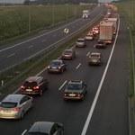 60 niewybuchów znaleziono na A4. Autostrada już jest przejezdna