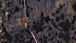 600 metrów wysokości i kilometr długości. Dali radę!