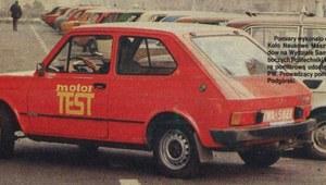 """61. badanie drogowe """"Motoru"""" - Fiat 127"""