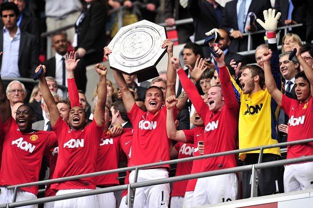 7 sierpnia Manchester United cieszył się ze zdobycia Tarczy Wspólnoty za Superpuchar Anglii. /AFP