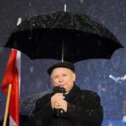 70. miesięcznica smoleńska pod Pałacem Prezydenckim