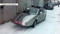 75-letni Ukrainiec skonstruował elektryczny samochód