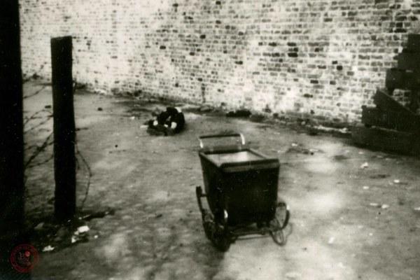 Zabite dziecko w getcie warszawskim