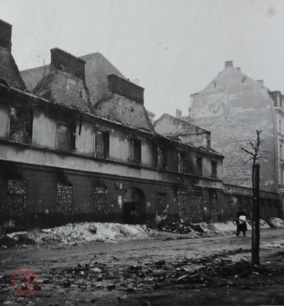 Ruiny zniszczonego getta