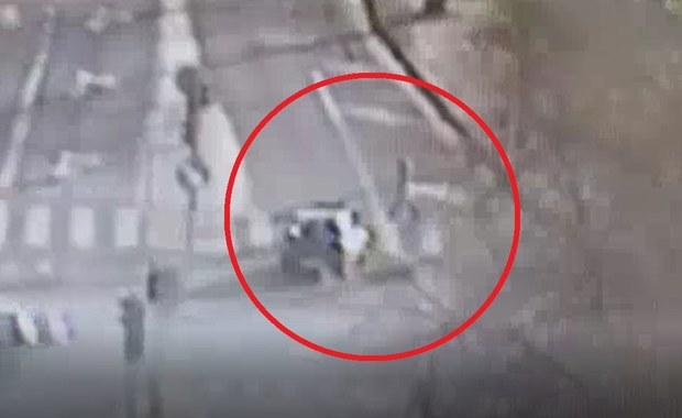 84-latek potrącił kobietę na przejściu i... spokojnie odjechał na zakupy
