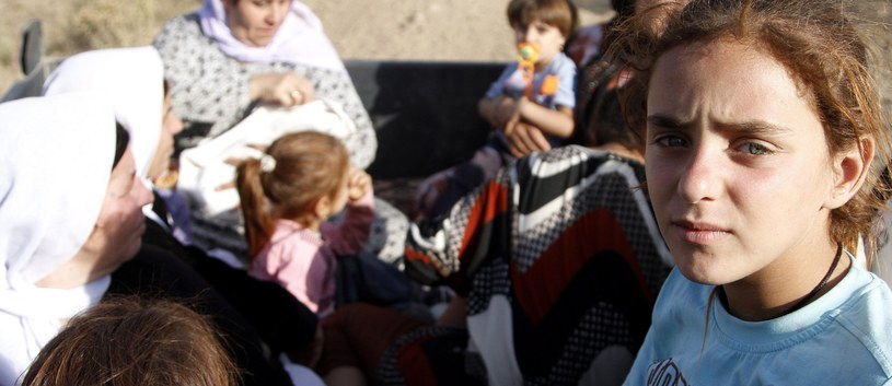 """9-letnia Jazydka była """"oddawana w nagrodę"""" bojownikom Państwa Islamskiego (zdj. ilustracyjne) / ULAS YUNUS TOSUN    /PAP/EPA"""