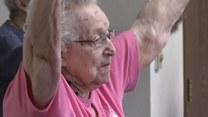 99-letnia instruktorka fitnessu! Tego jeszcze nie było