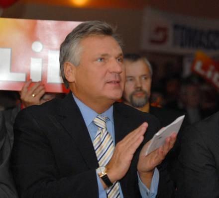A. Kwaśniewski również posiada uniewinniający go wyrok Sądu Lustracyjnego/fot. A. Zbraniecki /Agencja SE/East News