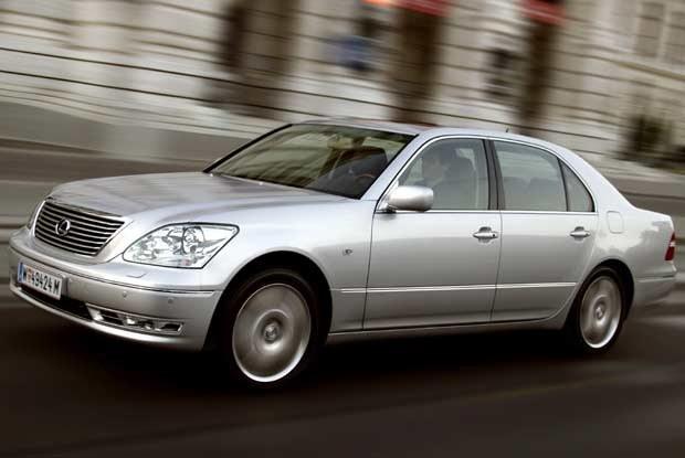... a najdroższy (nowy LS 430)  od 78 300 euro / kliknij /INTERIA.PL