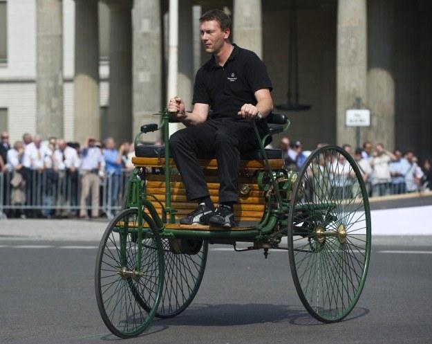 A samochód - ponad 125 lat temu... /