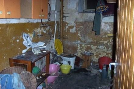 A tak jest w mieszkaniu uciążliwego lokatora / fot. Józef Grotowski /Euroregio Glacensis