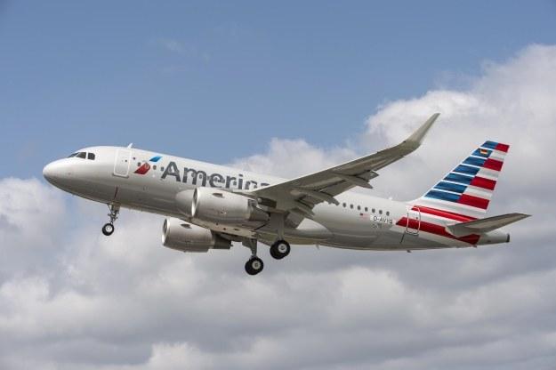 A320 w barwach American Airlines.  Fot. Airbus /materiały prasowe
