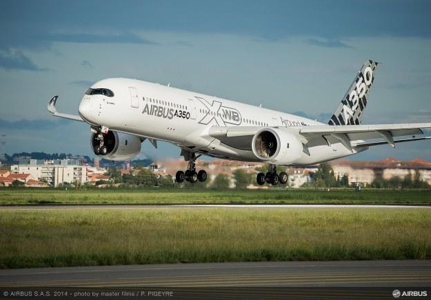 A350 XWB.   Fot. Airbus /materiały prasowe