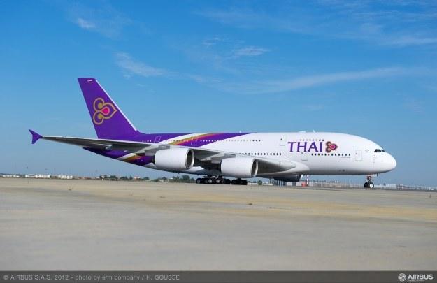 A380 - największy i zarazem najdroższy samolot pasażerski Airbusa.  Fot. Airbus /materiały prasowe